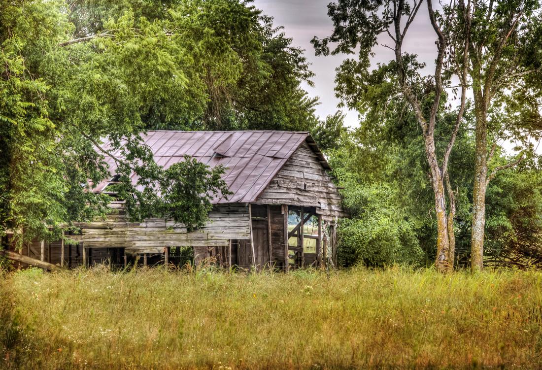 Old Barn in Tigertown, Texas