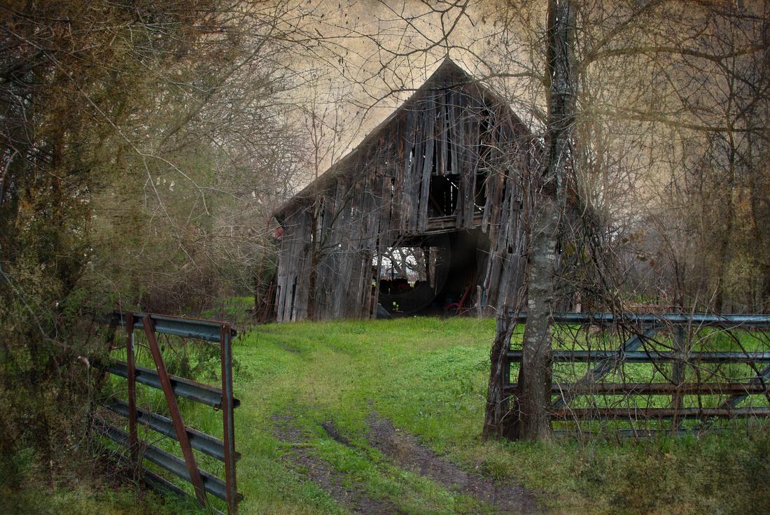 Old Barn in White Rock, Texas