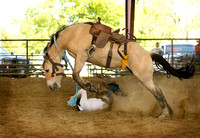 CTCC Youth / Adult Ranch Rodeo / Bronc Riding042515