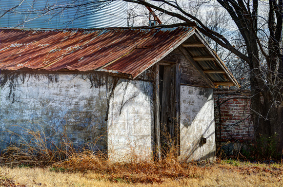 Old Wood Shed in Bonham, Texas