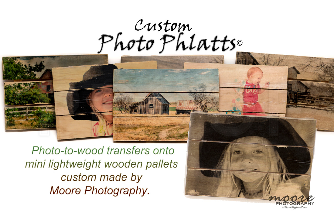 Custom Photo Phlatts, Photo to Wood Transfer